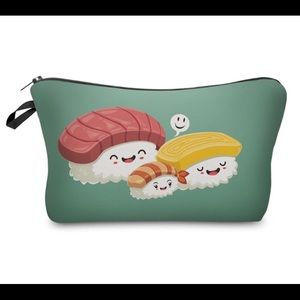 Handbags - Cute Sushi Makeup Bag or Pencil Case
